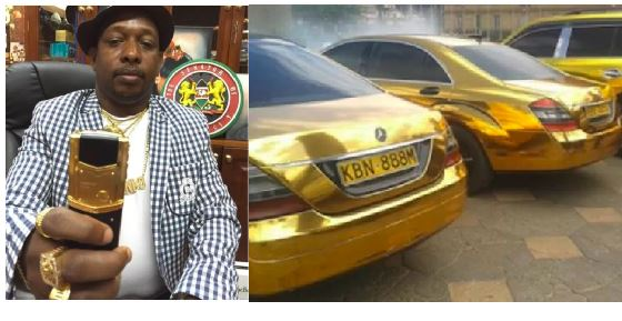 Meet Kenyan Governor Who Has All His Accessories Made Of Gold And Drinks Gold