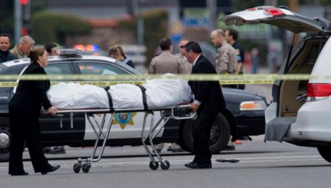 California Shooting Spree: 4 Dead, 10 Others Injured