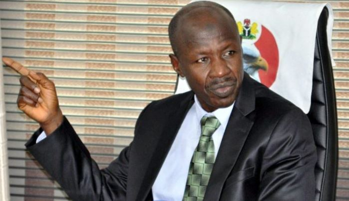 Now: EFCC Acting Chairman, Ibrahim Magu arrested by the DSS