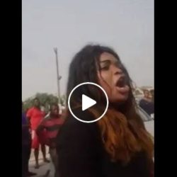 Nigerian Prostitute Fights 2 Men Who Took Turns To Have Sex With Her All Night But Now Refused To Pay Her The Agreed N5,000 In Ajah Lagos