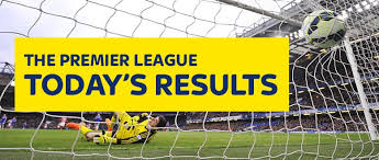 English Premier League: Today's Results
