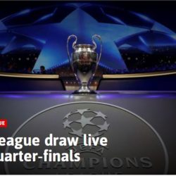 Champions League Draw Live 2017/2018: Quarter-Finals