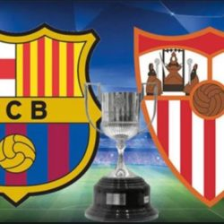 Predict The Correct Score For The Match Between Sevilla vs Barcelona & Win a Recharge Card