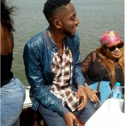 Photos From #BBNaija 2018 Winner Miracle's Boat Cruise With Female Fans