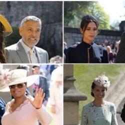 #RoyalWedding: Amal Clooney, Oprah Winfrey And Pippa Middleton Lead The Best Dressed Guests At The Royal Wedding