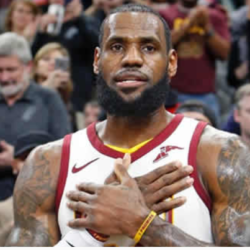 LeBron 'living the moment' But Eyes NBA Talent Options