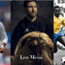 Is Lionel Messi the G.O.A.T? Striker poses with a goat as he covers PAPER Magazine's first sport issue