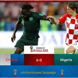 #WorldCup 2018: Victor Moses speaks up after Super Eagles Loss to Croatia