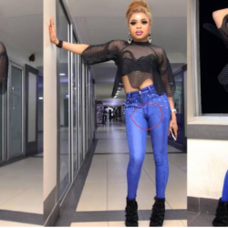 We Can See Your D**k – Fans To Bobrisky For Rocking Tight Jeans (Photos)