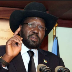 South Sudan's President Kiir Says He's Ready To Accept Peace Deal