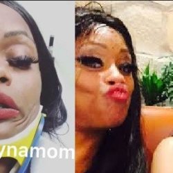 Blac Chyna's mom hit by a car, seriously injured (Video)