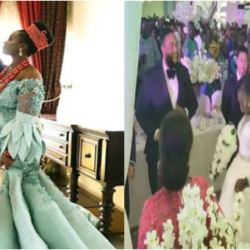 Photos From Wedding Of Former Enugu State Governor, Sullivan Chime's Daughter