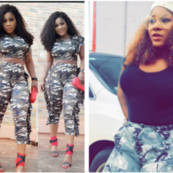 Curvy Actress, Destiny Etiko slays in Camouflage outfit (Photo)