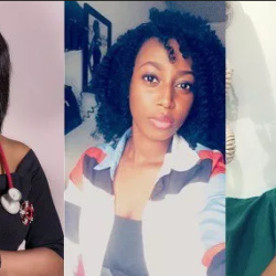 Beautiful Nigerian doctor left shock after breaking her piggy bank and discovering how much was in it