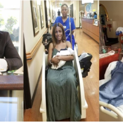 Linda Ikeji Finally Reveals That Sholaye Jeremi Is The Father Of Her Child