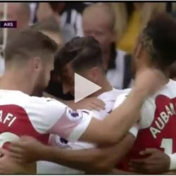 #EPL #NEWARS: NewCastle vs Arsenal 1-2. The Goals And Match Highlights