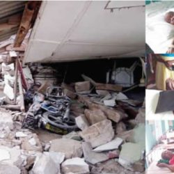 Pandemonium As 100-year-old Delta Church Collapse