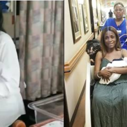 Linda ikeji's mum burst into dancing as daughter leaves the hospital-Video