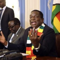 Zimbabwe's Opposition Members Walk Out On Mnangagwa Address