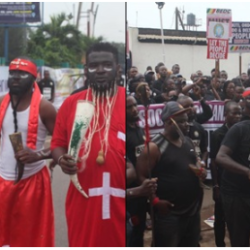 Benin Electricity: 'Native Doctors', Stakeholders Protest Against BEDC