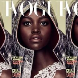 Actress Lupita Nyong'o Stuns As She Covers Vogue Spain