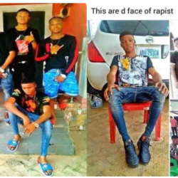 5 guys drug and gang rape 2 girls they met via Facebook in Lagos