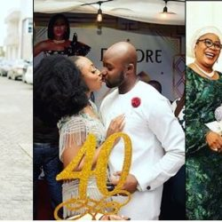 Actress Dakore Shares Photos From Her Star-Studded 40th Birthday