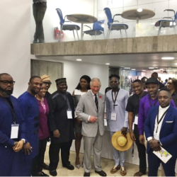 How You Dey? - Prince Charles Speaks 'Pidgin' As He Hangs Out With Celebrities In Lagos (Photos)