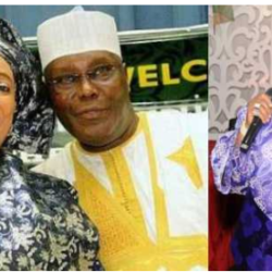 My husband is not a thief and would never steal if elected – Atiku's wife
