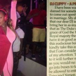 DJ Cuppy Reacts To Marriage Proposal From Duke of Shomolu (Photo)