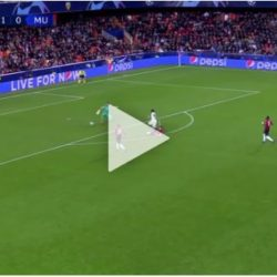 #UEFA: Valencia vs Manchester United 2-1. The Goals And Match Highlights