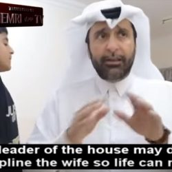 Qatari Sociologist Instructs Muslim Men On How To Beat Their Wives