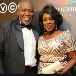 Proud grandparents, Joke Silva and Olu Jacobs, bond with their grand daughter (Photos)